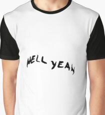 """Jenna Marbles """"Hell Yeah"""" Eyebrows Graphic T-Shirt"""