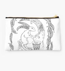 Magic moon rabbit Studio Pouch