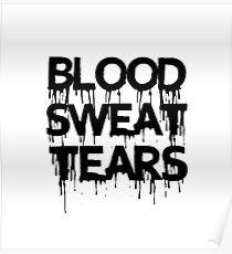 BTS(Blood Sweat & Tears) Poster