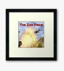 The Zoo Race Cannon Framed Print