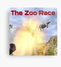 The Zoo Race Cannon Metal Print