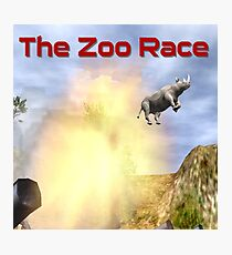 The Zoo Race Cannon Photographic Print