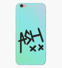 Blaue Ombre-Asche XX iPhone-Hülle & Cover