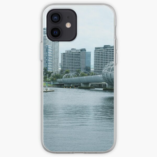 Webb bridge, Docklands iPhone Soft Case