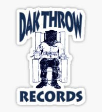 Dak Throw Records Sticker