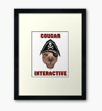 Cougar Interactive Framed Print