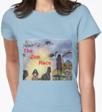 The Zoo Race Rides Women's Fitted T-Shirt