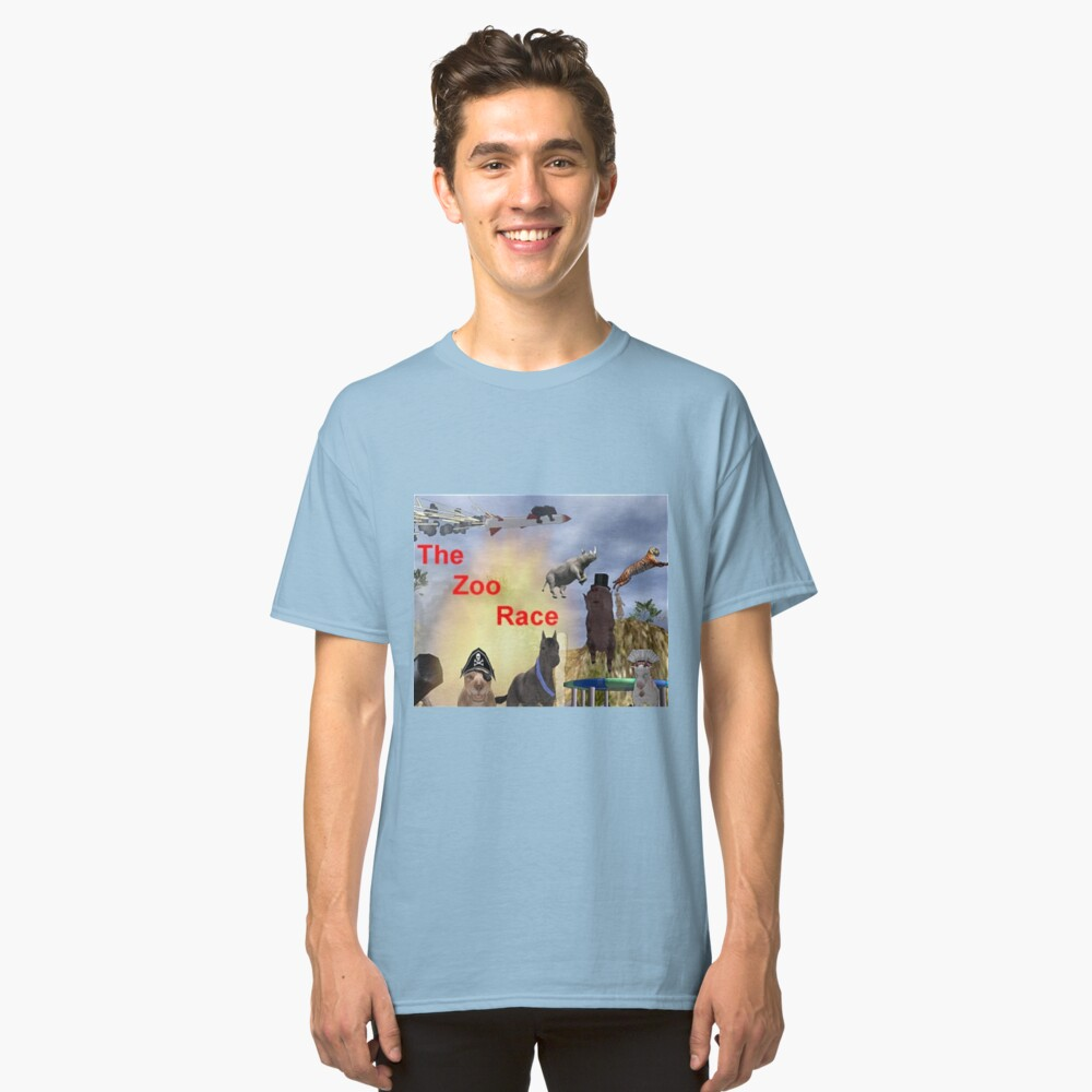 The Zoo Race Rides Classic T-Shirt Front