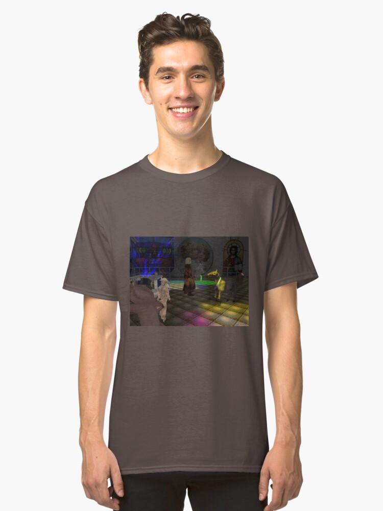 The Zoo Race dance floor Classic T-Shirt Front