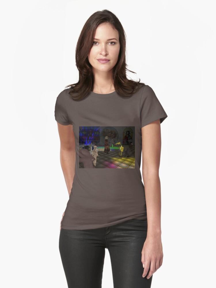 The Zoo Race dance floor Womens T-Shirt Front