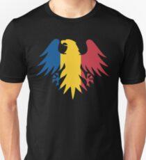 Romania Flag Eagle Unisex T-Shirt