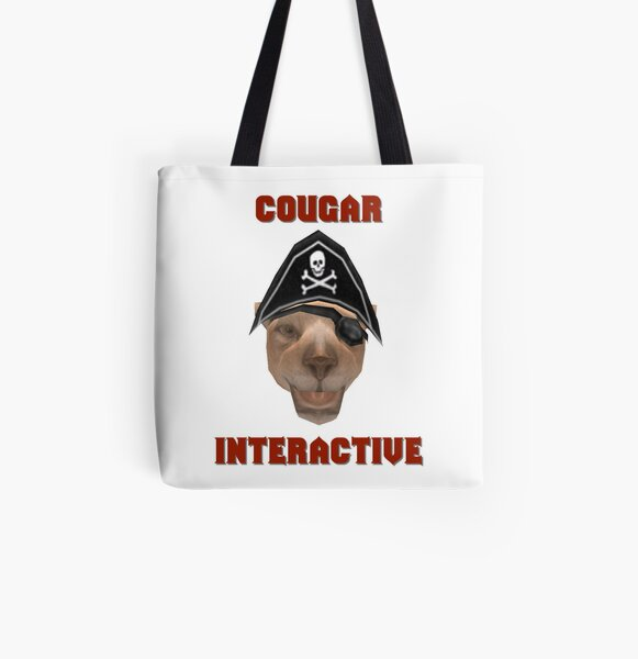 Cougar Interactive All Over Print Tote Bag