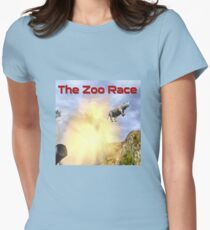 The Zoo Race Cannon Women's Fitted T-Shirt