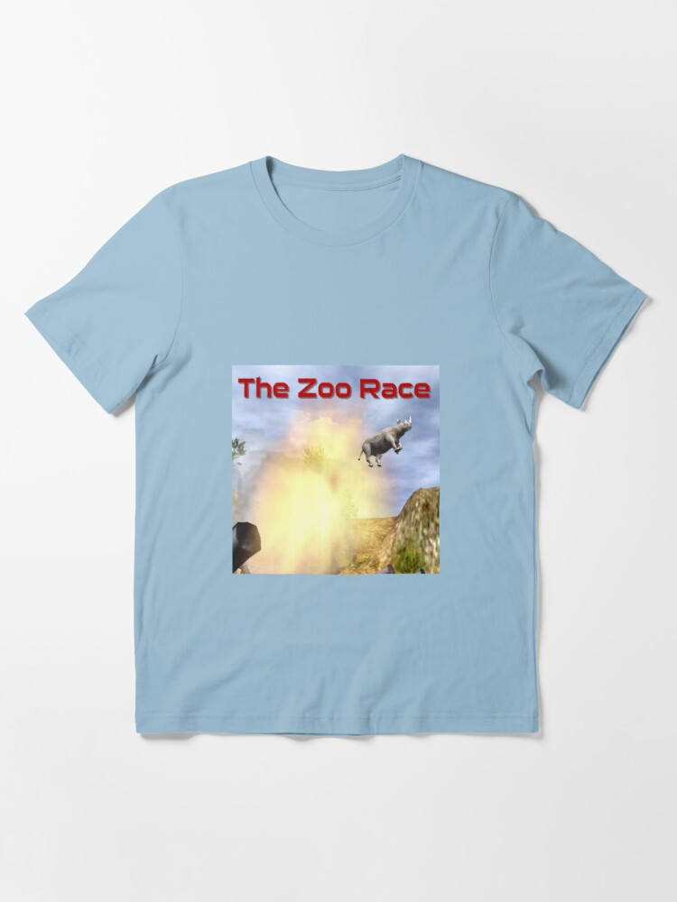 Alternate view of The Zoo Race Cannon Essential T-Shirt