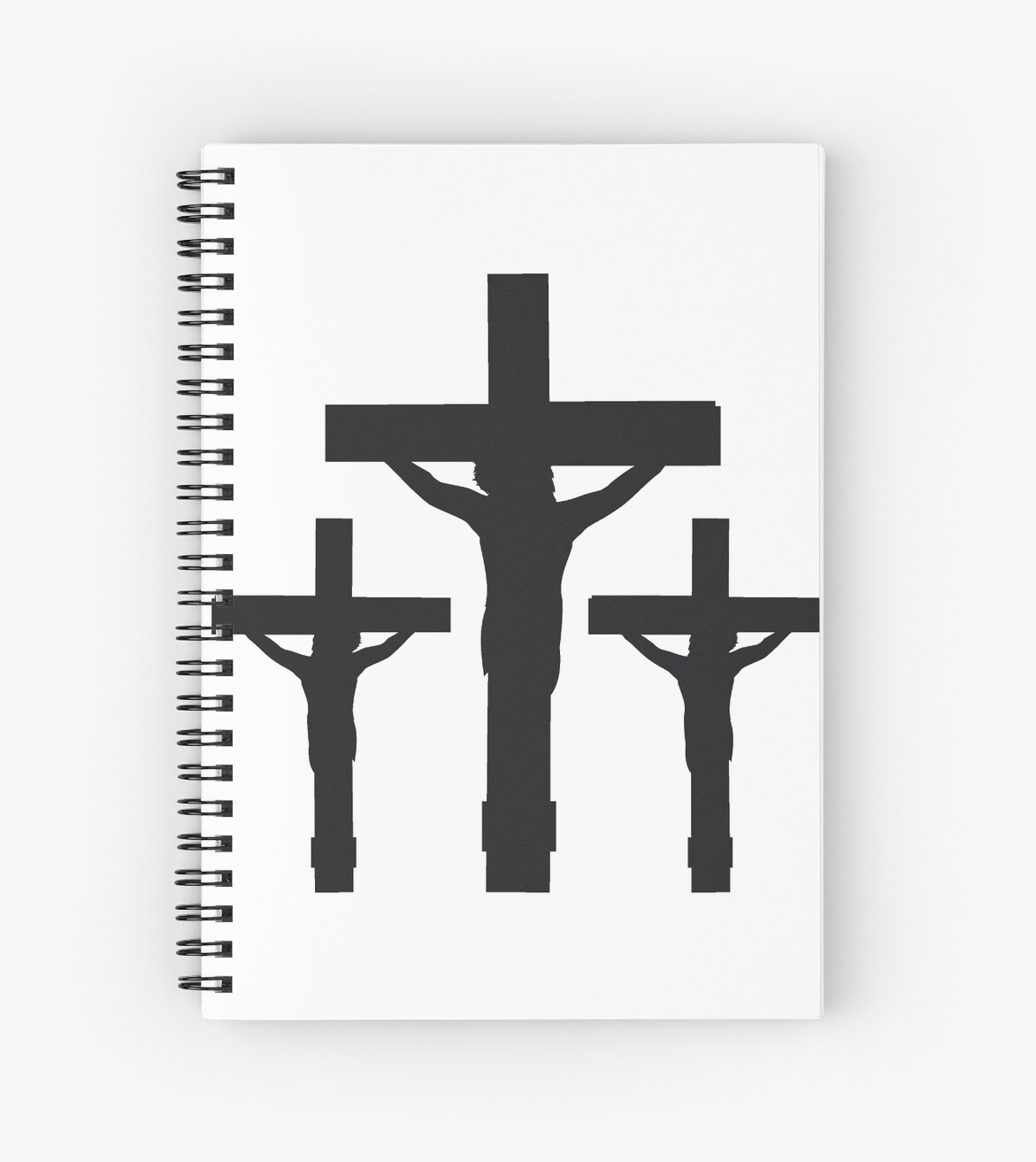 3 Crosses Younger Black Dead Nailed Cross Symbol Team Crew Friends