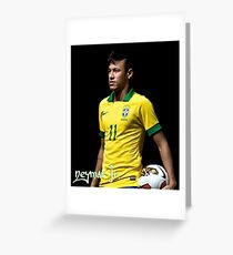 NEYMAR JR. - 11 - BRAZIL Greeting Card