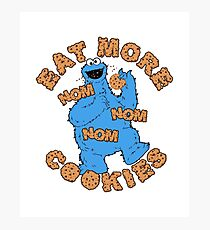 Cookie Monster Variant Photographic Print