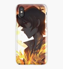 Burning in My Bones iPhone Case/Skin