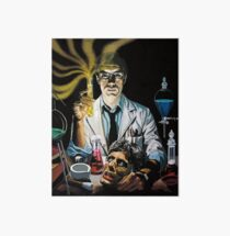 Re-Animator science fiction cover Art Board