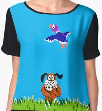 Duck Hunt Chiffon Top