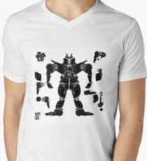 motorbike robo 3 Men's V-Neck T-Shirt