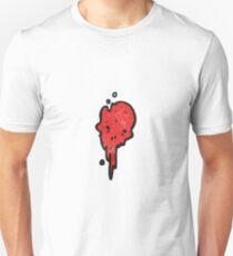gross halloween skull cartoon Unisex T-Shirt