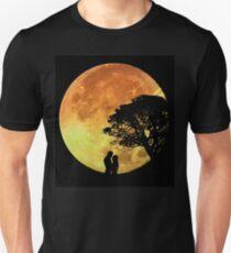 Couple Love Romance Lovers Moonlight Romantic T-Shirt