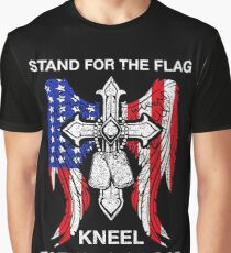 Stand For The Flag Kneel For The Cross T-Shirt Graphic T-Shirt