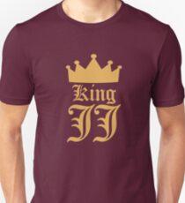 King JJ (Gold) - Style #1 Unisex T-Shirt