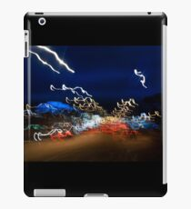 Cars driving motion night lights iPad Case/Skin