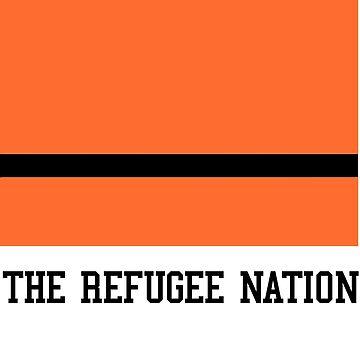 The Refugee Nation Flag by dsm16