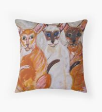 The Brat Pack Throw Pillow
