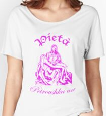Pieta_pink Women's Relaxed Fit T-Shirt