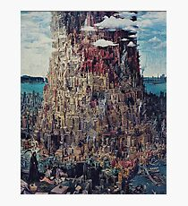 Let It Die Tower Of Barbs Photographic Print