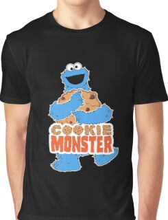Cookie Monster - Cookie Hug Graphic T-Shirt
