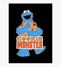 Cookie Monster - Cookie Hug Photographic Print