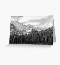 These Mountains Greeting Card