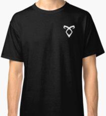 Shadowhunters Rune White Classic T-Shirt