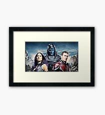 xmen apocalypse limited edition Framed Print
