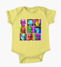 Body de manga corta para bebé Universal Warhol