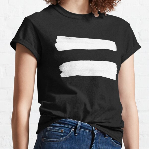 Equality Paint White Classic T-Shirt