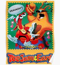 ToeJam & Earl (Mega Drive Art) Poster