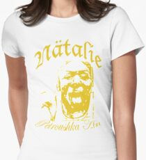 Natalie_yellow Women's Fitted T-Shirt