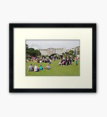 St. Leonards Festival, England Framed Print