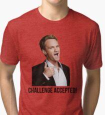 Barney Challenge Tri-blend T-Shirt