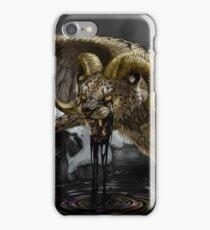Black Oil iPhone Case/Skin
