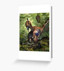 Jinfengopteryx elegans Greeting Card