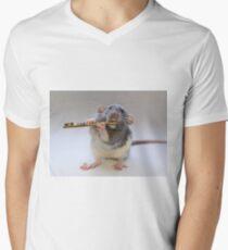 Snuffy Men's V-Neck T-Shirt