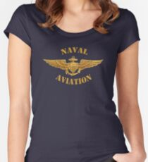 Naval Aviation (T-Shirt) Women's Fitted Scoop T-Shirt