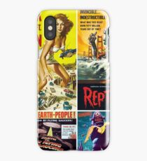 Sci-Fi Movie Poster Collection #9 iPhone Case/Skin